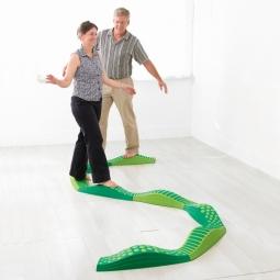 Wavy Tactile Path (Green)