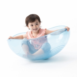 Weplay Rocking bowl (Clear Blue)